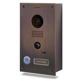 Portier vidéo connecté IP - acier inoxydable brossé (Bronze finish) - saillie - DoorBird - D201B