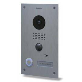portier vid o connect ip acier inoxydable bross doorbird d202. Black Bedroom Furniture Sets. Home Design Ideas