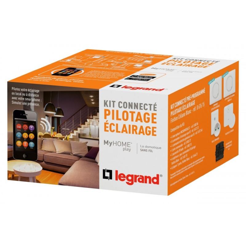 Kit Connecté MyHOME Play - Éclairage - Céliane Blanc - LEGRAND - 067612