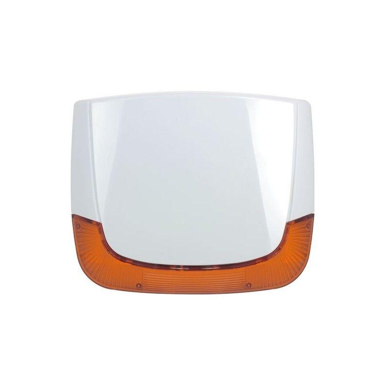 Sirène extérieure sans fil bidirectionnelle 868MHz  Flash Ambre -  RISCO Agility - SEDEA - 595655