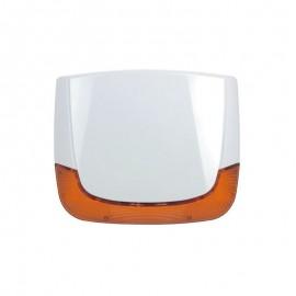 Sirène extérieure sans fil bidirectionnelle 868MHz Flash Ambre - RISCO - SEDEA - 595655