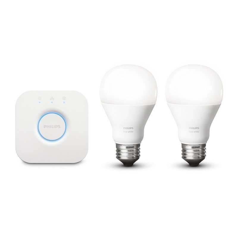 Pack 2 ampoules blanches + bridge - Philips HUE - 1822510