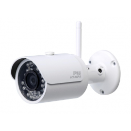 Caméra IP - 1Mp - IR30m - Wifi - IP66 - DAHUA - DH-IPC-HFW1000SP-W