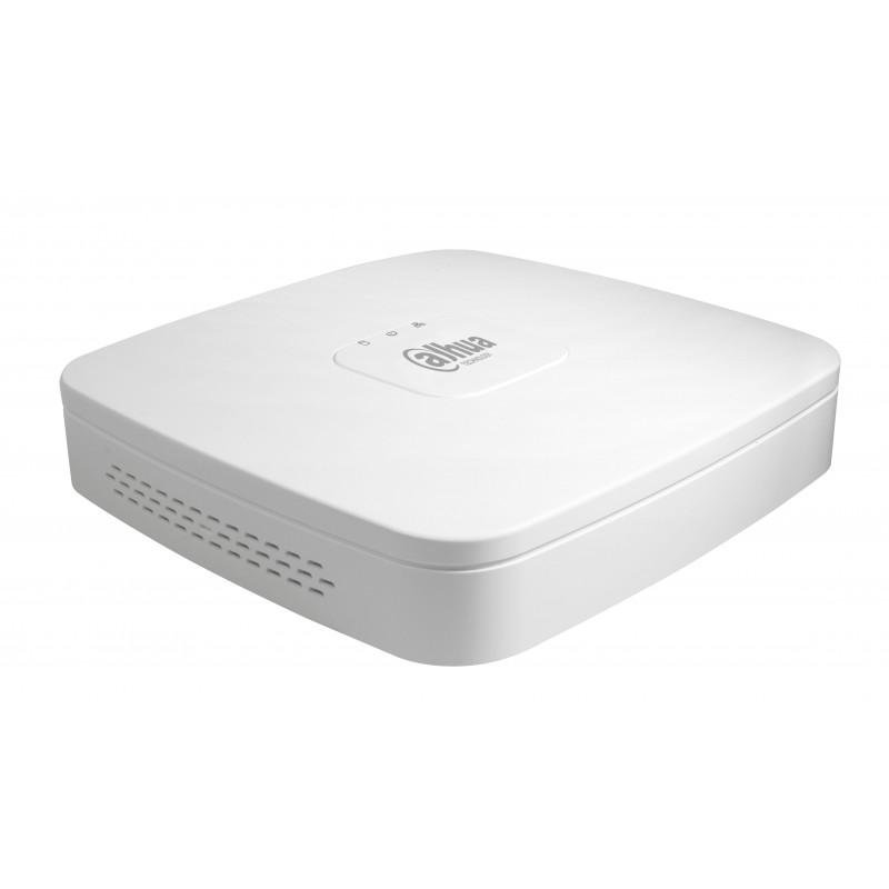 Enregistreur réseau - NVR - 80Mbps - 4voies - 4PoE - 6Mp - 1HDD - DAHUA - DHI-NVR2104-P-S2