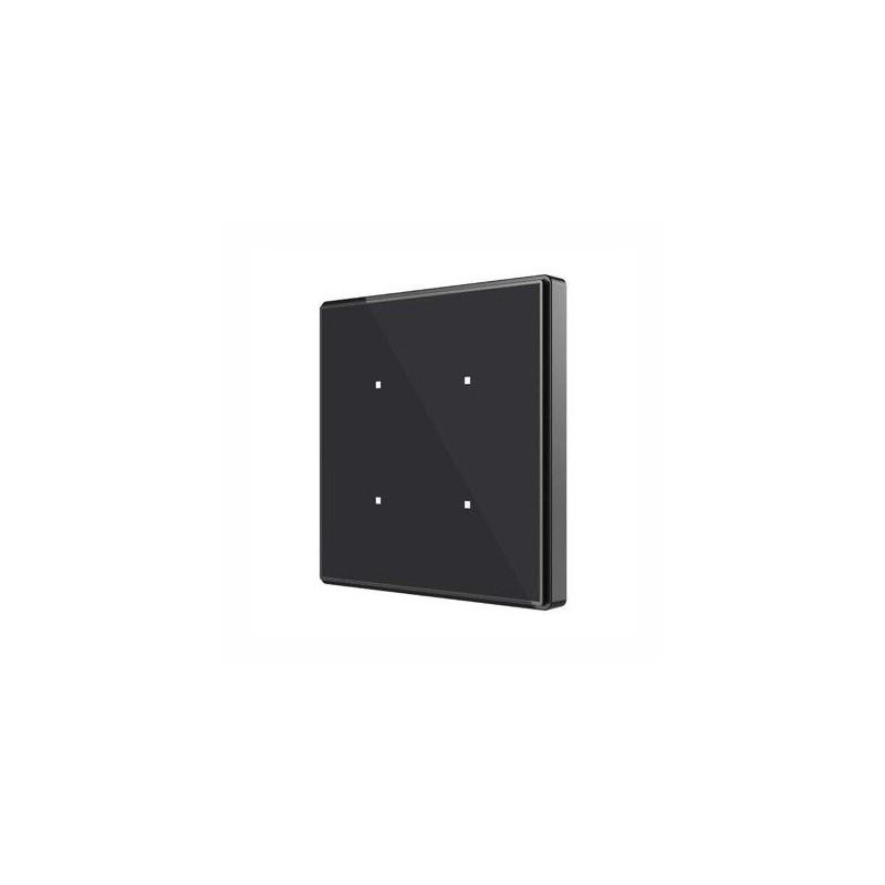 Square TMD - Interrupteur capacitif KNX - 4 boutons et sonde de température - Zennio