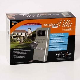 Interphone visio 3G - 1 bouton d'appel - saillie - Platinum - 05-0101 - INTRATONE
