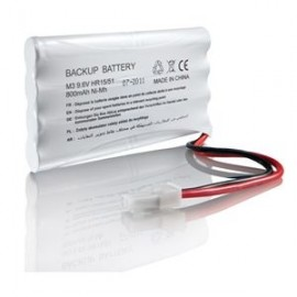 Batterie de secours 9.6V/1600MA.H pour AXOVIA, IXENGO, ELIXO ET DEXXO - Somfy - 9001001