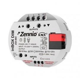 InBOX DIM - Régulateur universel à encastrer. 1 canal x 250W - Zennio - ZDI-IBD