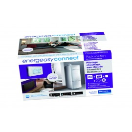 Pack Pilotage chauffage eau chaude thermostat radio et radiateurs - Energeasy Connect