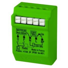 Micromodule Radio pour volets roulants Encastré 500W - YOKIS - MVR500ERP