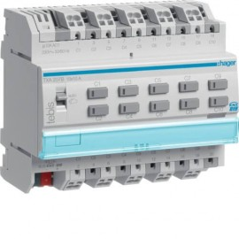 TXA207B - Actionneur 10 sorties 10A KNX - Hager