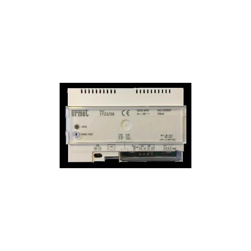 Interface Call Me pour Mini note + - URMET - 1722/58