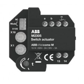 Relais actionneur ABB Welcome M - ABB - WM0808