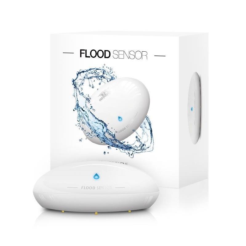 Détecteur d'inondation Z-Wave Flood Sensor - FIBARO - FGFS-101-ZW5