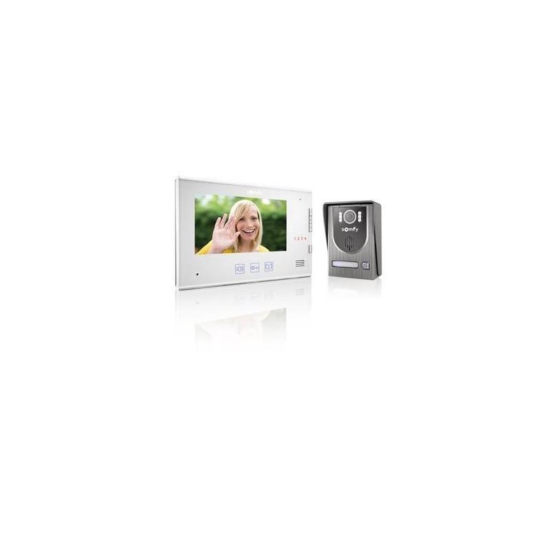 portier visiophone v250 somfy 2401445. Black Bedroom Furniture Sets. Home Design Ideas