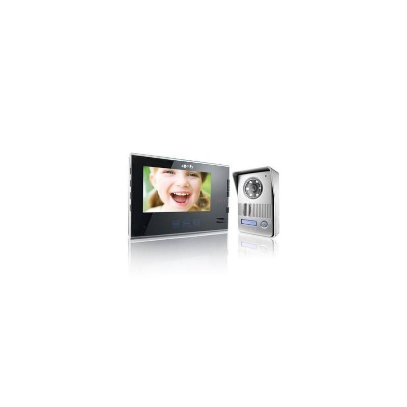 Portier Visiophone V400 1.2 Noir - Somfy - 2401295
