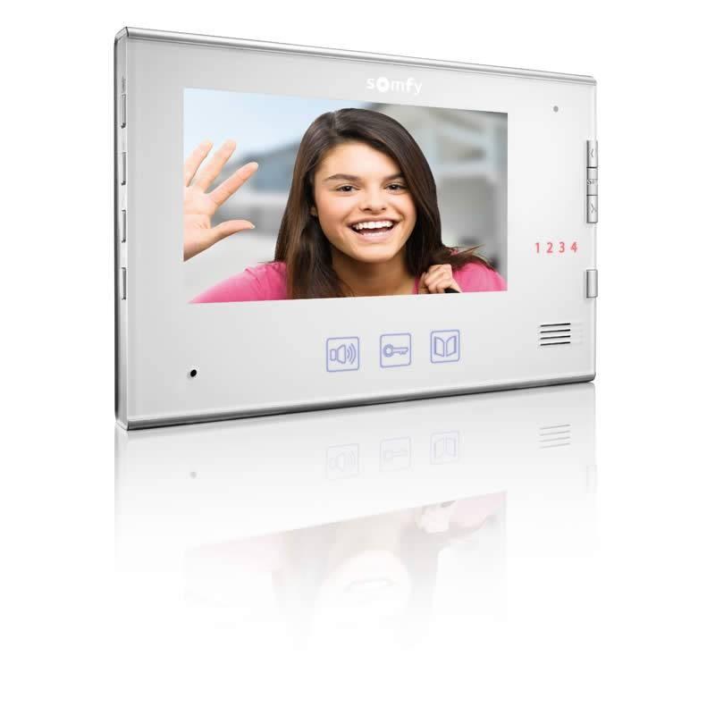 Moniteur supplémentaire pour visiophone V250 / V400 / V600 Blanc - Somfy - 2401251