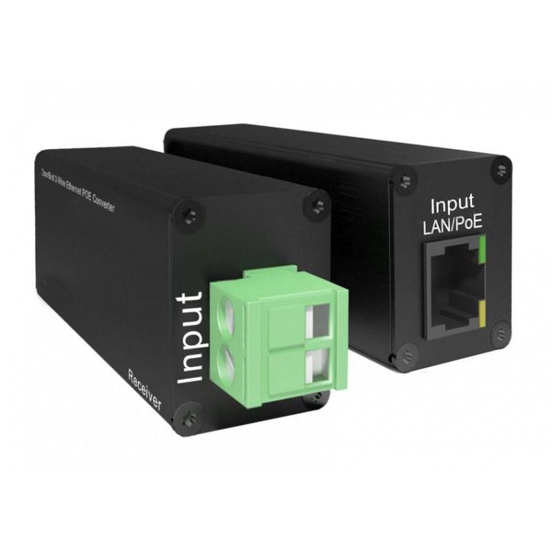 Convertisseur 2-Fils POE Ethernet - DoorBird - A1071
