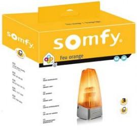 Feu orange pour portail et porte de garage - Somfy - 2400596