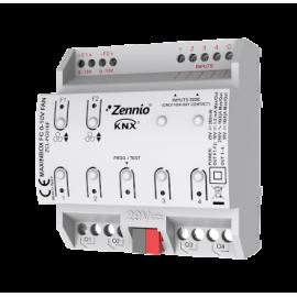 MAXinBOX FC 0-10V FAN - Contrôleur de FAN-COIL pour 2 unités de 2 ou 4 tubes - Zennio - ZCL-FC010F