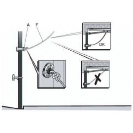 Ouverture manuelle à clé pour porte de garage - Somfy - 2400658