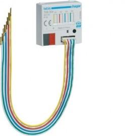 TXB304 - Module KNX 4 entrées à encastrer - Hager