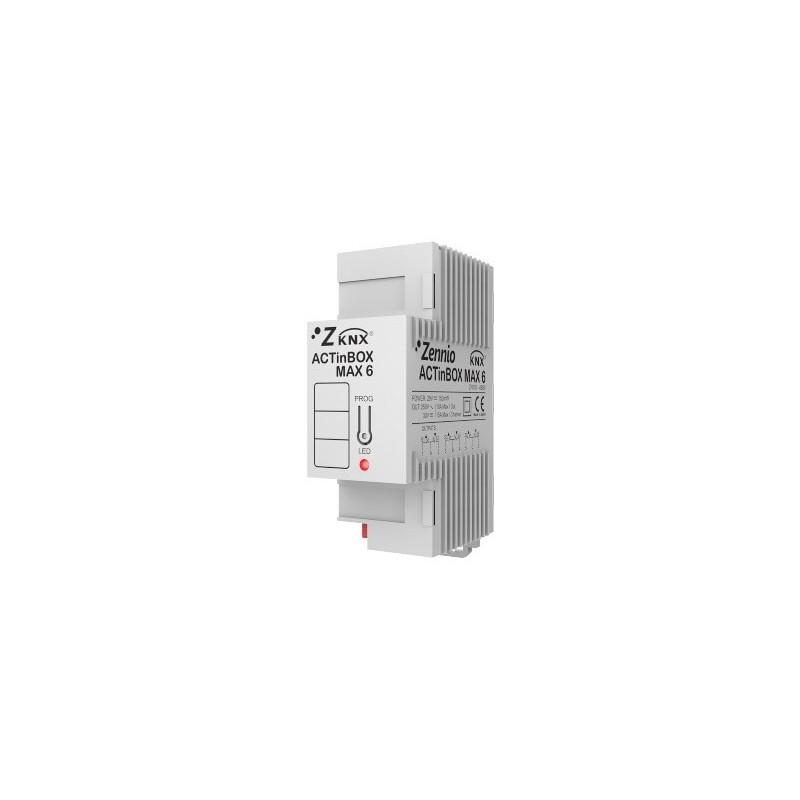 ACTinBOX MAX 6 VENTILO-CONVECTEUR - Ventilo-convecteur 2/4 Tubes - Zennio