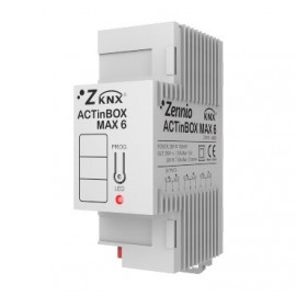 ACTinBOX MAX 6 VENTILO-CONVECTEUR - Ventilo-convecteur 2/4 Tubes - Zennio - ZN1IO-AB60