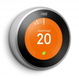 Nest Learning Thermostat 3e Gen - Thermostat connecté - NEST
