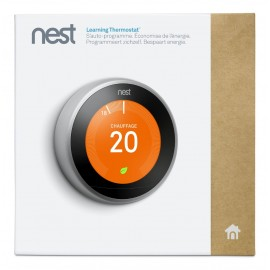 Nest Learning Thermostat 3e Gen - Thermostat connecté - NEST