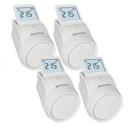Pack de 4 Têtes thermostatique programmable sans fil HR92 EVOHOME - Honeywell - HR924WE