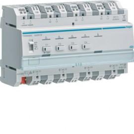 Module 4 sorties variation éclairage 300W par voie / New Easy / Parallélisation - Hager -  TXA664AN
