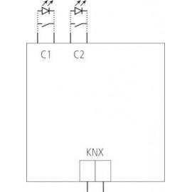 TA 2 KNX - Module KNX 2 entrées à encastrer - Theben