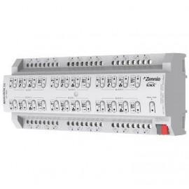 MAXinBOX 24 - Actionneur multifonction avec 24 sorties rail DIN - Zennio - ZIO-MB24