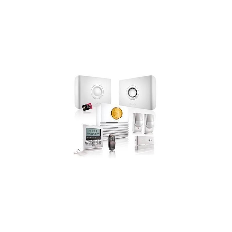 pack alarme protexiom online premium somfy 2500300. Black Bedroom Furniture Sets. Home Design Ideas