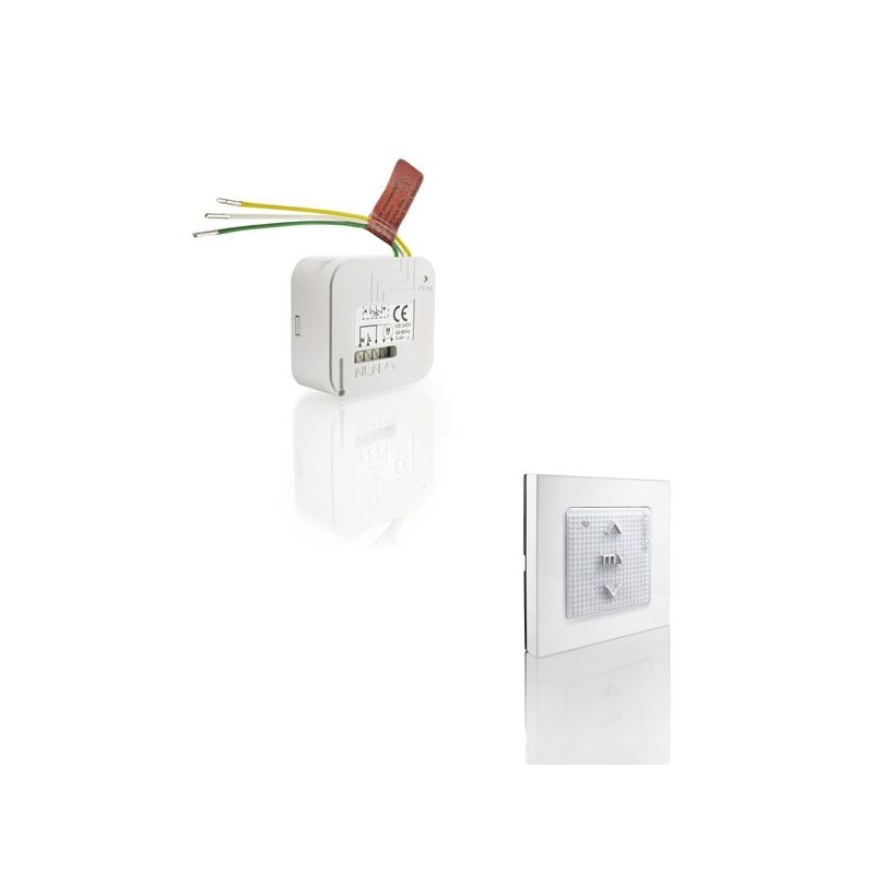 Kit RTS pour volet roulant - Smoove + Micro-module - Somfy