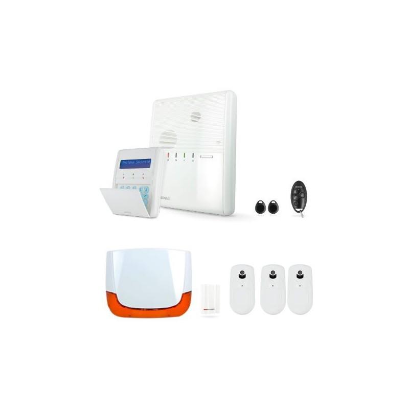 Kit 3 alarme AGILITY 3 sans fil - IP/GSM/GPRS - RISCO