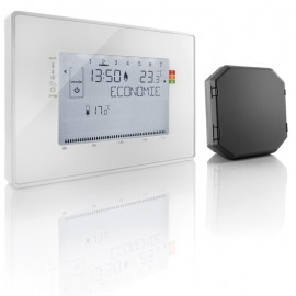 Thermostat connecté - radio contact sec - Somfy