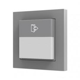 Presentia C - Détecteur de présence KNX avec capteur de luminosité encastré en mur - Zennio - ZPDW01