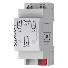 FANinBOX 230V 1CH - Contrôleur pour ventilateur de plafond 230V AC - 1 Canal - Zennio - ZCLFB230C1