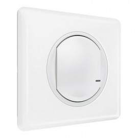 Interrupteur filaire connecté Céliane with Netatmo Blanc - Legrand - 067721