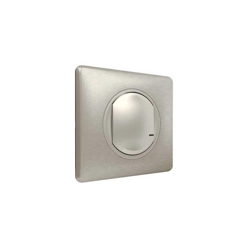 commande sans fil d'éclairage et prises - titane - legrand - 067773
