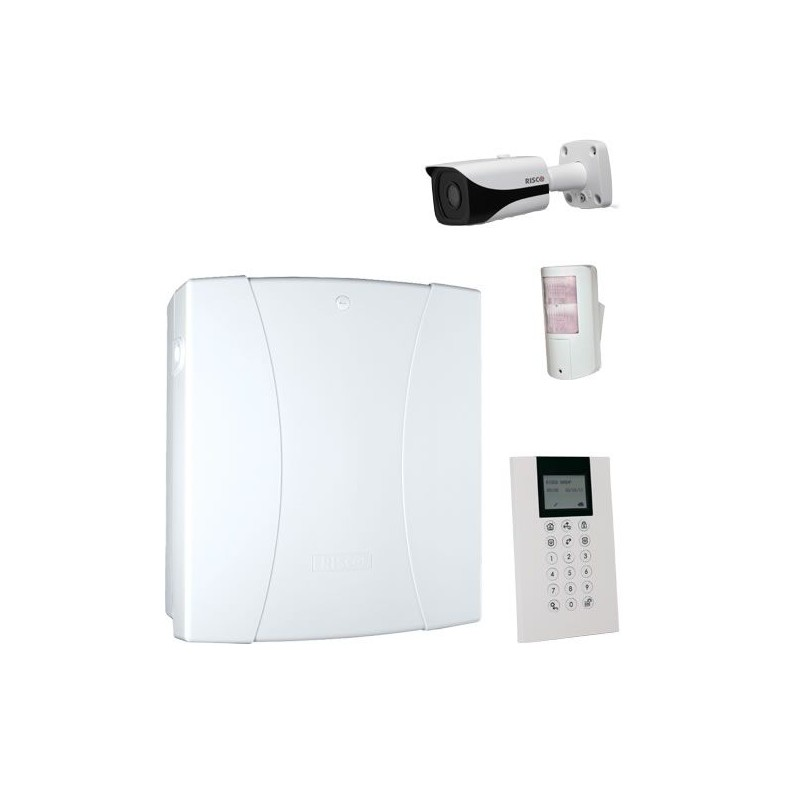 KIT 2 Centrale filaire - Lightsys 360° – IP - RISCO