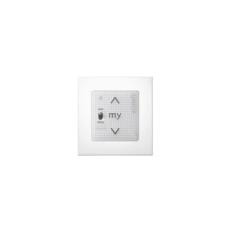 SMOOVE UNO IO COMPATIBLE + Cadre - Blanc -Somfy - 1811405