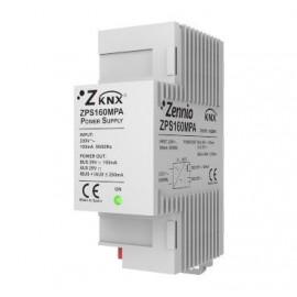 Source d´alimentation KNX 160mA avec sortie additionnelle (Max. 250mA) - Zennio - ZN1PS-160MPA