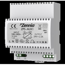 Source d'alimentation pour AudioInRoom + contrôle d'accès 24 VDC/2.5 A - ZPS-AUX1