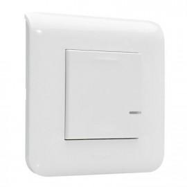 Interrupteur à option variateur connectée - Blanc - Mosaic with Netatmo - Legrand - 077701