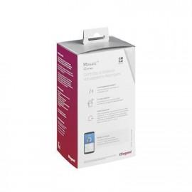 Kit extension 3 prises de courant connectées - Mosaic with Netatmo - Blanc - Legrand - 077738