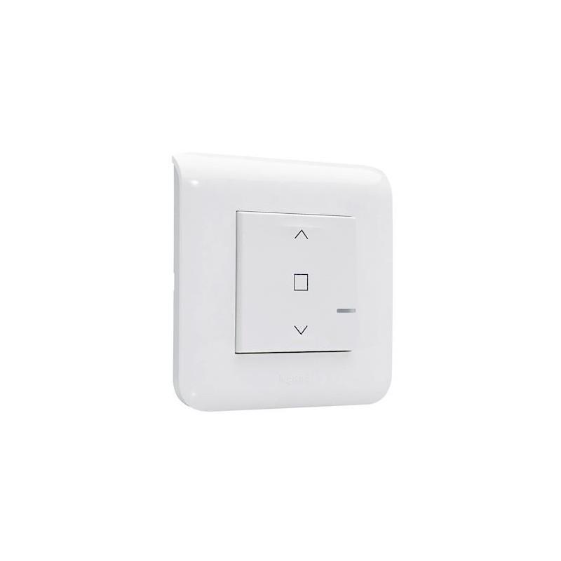 interrupteur connect volet roulant mosaic blanc. Black Bedroom Furniture Sets. Home Design Ideas