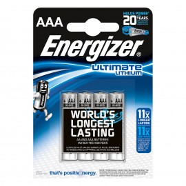 Ultilmate Lithium AAA x 4 - Energizer - 273267